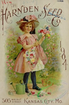 sweet_pea-00251 - 176421 - 001-Girl with bouquets Sweet Pea, watercan