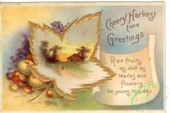 thanksgiving_day_postcards-00006 - 006-Leaves, paper, fruits, scroll [3000x2012]