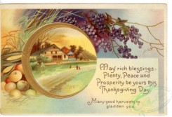 thanksgiving_day_postcards-00007 - 007-Round frame, fruits, grape [3000x2042]