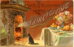 thanksgiving_day_postcards-00017 - 017-Fireplace, Dinner table, Cat [3000x1928]