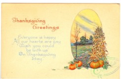 thanksgiving_day_postcards-00048 - 048-Pumpkin, Corn plant, Everyone is happy all our hearts are gay wish you colud... [3000x1964]