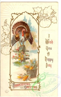 thanksgiving_day_postcards-00068 - 068-Turkey, I wish you a happy day [1910x3000]