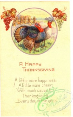 thanksgiving_day_postcards-00070 - 070-Turkey, A little more happiness, a little more cheer... [1891x3000]