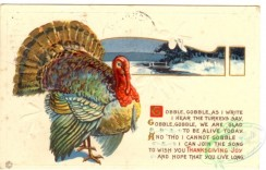 thanksgiving_day_postcards-00090 - 090-Turkey, Gobble, as I write I hear the Turkey say... [3000x1918]