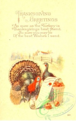 thanksgiving_day_postcards-00098 - 098-Turkey, As sure as the Thanksgiving is Thanksgiving best friend [1890x3000]