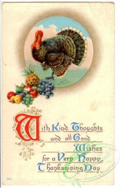 thanksgiving_day_postcards-00157 - 157-Turkey, With kind thoughts and all good wishes... [1934x3000]