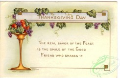 thanksgiving_day_postcards-00164 - 164-fruits, Frame, The real savor of the feast is the smile... [3000x1948]