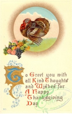 thanksgiving_day_postcards-00183 - 183-Turkey, To greet you mith all kind thoughts and wishes for... [1890x3000]