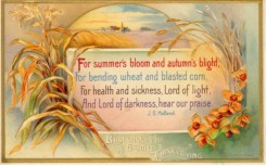 thanksgiving_day_postcards-00205 - 205-Corn, Wheat, Flowers, For summer's bloom and autumn's blight... [3000x1868]