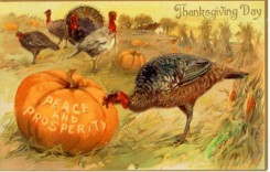 thanksgiving_day_postcards-00216 - 216-Pumpkin, Turkey, Peace and prosperity [3000x1906]