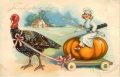 thanksgiving_day_postcards-00219 - 219-Turkey, Pumpkin, Cook, Knife [3000x1912]