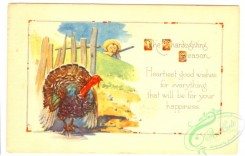 thanksgiving_day_postcards-00286 - 286-Turkey, hunter, Heartiest good wishes for everything tha will be... [3000x1912]