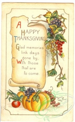 thanksgiving_day_postcards-00296 - 296-Pumpkin, Fruits, Glad memories link days gone by... [1851x3000]