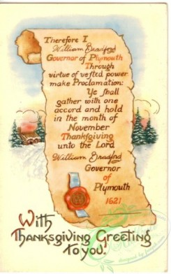 thanksgiving_day_postcards-00350 - 350-Scroll, Therefore I Governor of Plymouth... [1877x3000]