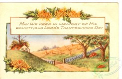 thanksgiving_day_postcards-00380 - 380-Frame, trees, Apple, May we keep in memory of his bounty... [3000x1932]
