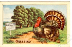 thanksgiving_day_postcards-00382 - 382-Turkey, trees, Thanksgiving proclamation [3000x1954]