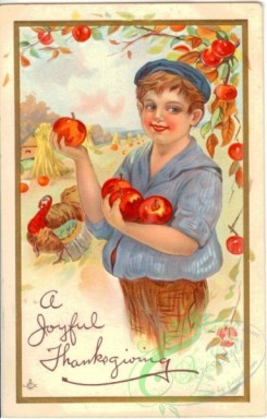 thanksgiving_day_postcards-00409 - 409-Boy, Apple, frame [1918x3000]