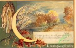 thanksgiving_day_postcards-00450 - 450-Wheat. With a sober gladness the old year takes up... [3000x1906]
