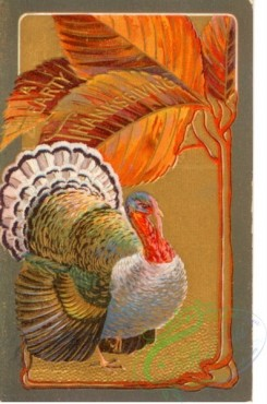 thanksgiving_day_postcards-00495 - 495-Turkey, leaves [1988x3000]