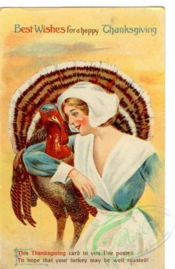 thanksgiving_day_postcards-00522 - 522-Turkey, woman, This Thanksgiving card to you i've posted... [1954x3000]