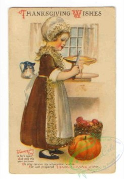 thanksgiving_day_postcards-00544 - 544-Woman, Pumpkin , knife [2080x3000]