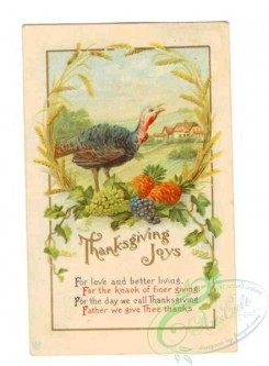 thanksgiving_day_postcards-00554 - 554-Turkey, frame, For love and better living... [2208x3000]