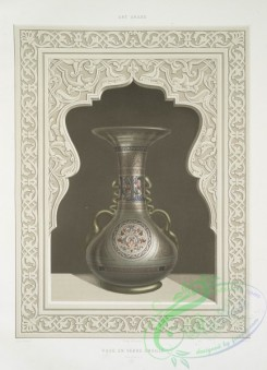 things-00158 - 158-Vase en verre emaille (XVIe, siecle)