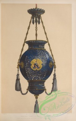 things-00176 - 019-Pendant lamp in Sevres porcelain