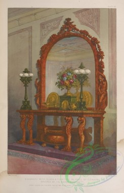 things-00181 - 029-Sideboard with glass , furniture by Snell of London, designed by the baron Marochetti