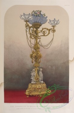 things-00192 - 047-Gas chandelier in brass by Winfield of Birmingham