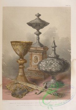 things-00196 - 055-Group of objects enriched with damascening by Falloise of Liege