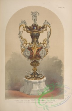 things-00200 - 060-Enamelled vase by Hunt and Roskell of London