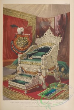 things-00201 - 061-Ivory throne and footstool, presented to her majesty the queen, by his highness the rajah of Travencore