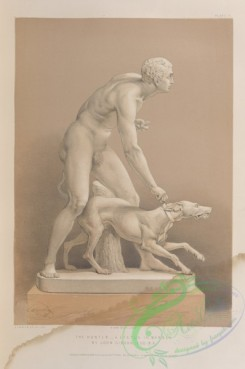 things-00213 - 081-The hunter-a statue in marble by John Gibson, esq, R, A