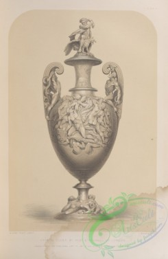 things-00219 - 091-Vase in silver, by Hunt , Roskell of London