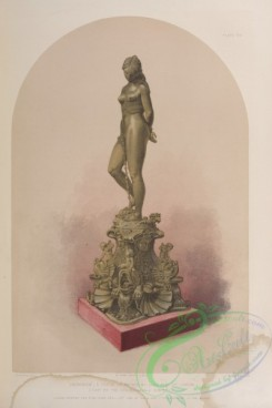 things-00234 - 116-'Andromeda''-a statue in bronze by John Bell of London, (Cast by the Coalbrookdale company,)
