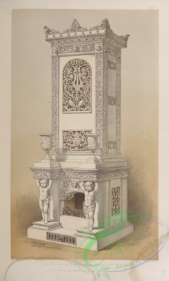 things-00236 - 118-Stove in white porcelain by Hoffman of Berlin