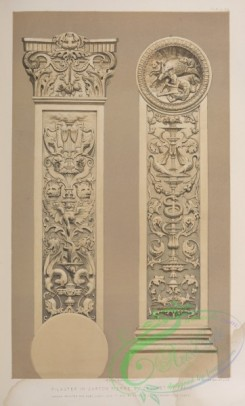 things-00243 - 128-Pilaster in carton pierre by Cruchet of Paris