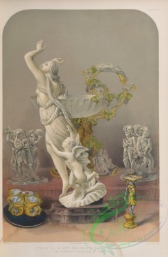 things-00259 - 158-Statuette in ivory, and objects in gold and silver, by Froment Meurice of Paris