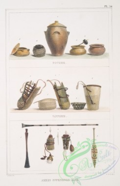 things-00272 - 051-Poterie, Vannerie, Armes offensives, rame