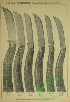 things-00557 - black-and-white Pruning Knives