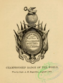things-00567 - black-and-white Championship badge of the world