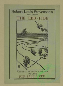vintage_posters-00433 - 049-Robert Louis Stevenson's new story the ebb-tide