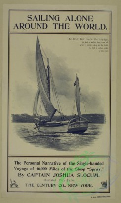 vintage_posters-00540 - 157-Sailing alone around the world
