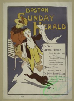 vintage_posters-00622 - 001-Boston Sunday herald, A new opera house (,)