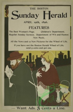 vintage_posters-00625 - 004-The Boston Sunday herald, April 19th 1896