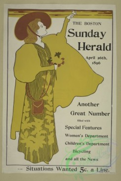 vintage_posters-00628 - 007-The Boston Sunday herald, April 29th, 1896