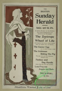 vintage_posters-00629 - 008-The Boston Sunday herald, Sunday April 5th, 196