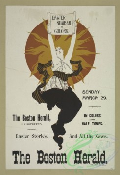 vintage_posters-00633 - 012-The Boston herald Sunday March 29, Easter number in colors