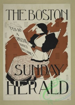 vintage_posters-00635 - 014-The Boston Sunday herald, Feb, 10